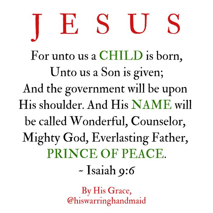 Jesus - Prince of Peace